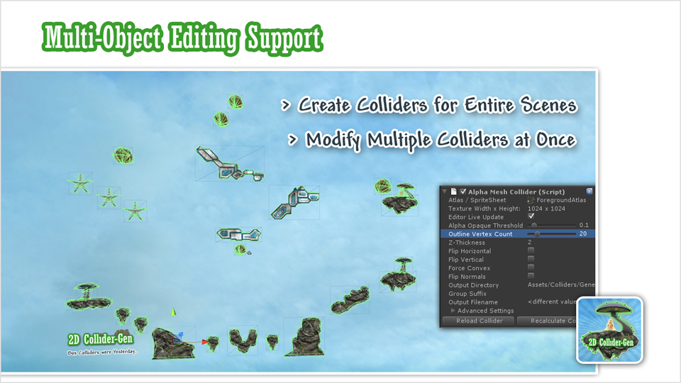 Multi-Object Editing Support