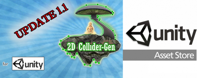 2D ColliderGen Update 1.1 available